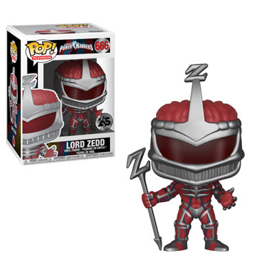 POP! Television: Power Rangers 25th Anniversary - Lord Zedd Vinyl Figure #666