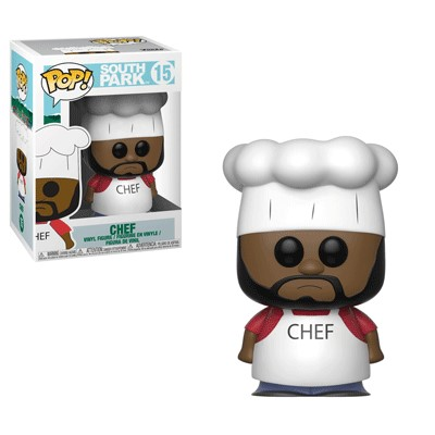 [PRE-SALE] POP! Television: South Park - Chef Vinyl Figure #15 [Ships in November]