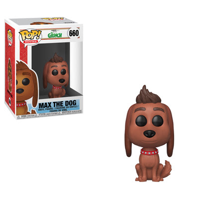 POP! Movies: The Grinch Movie - Max the Dog Vinyl Figure #660