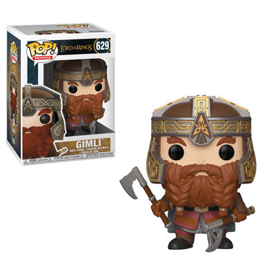 POP! Movies: Lord of the Rings - Gimli Vinyl Figure #629