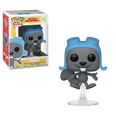 POP! Animation: Rocky & Bullwinkle - Flying Rocky Vinyl Figure #448