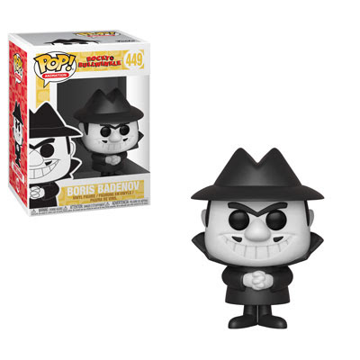 [PRE-SALE] POP! Animation: Rocky & Bullwinkle - Boris Vinyl Figure #449 [Ships in November]
