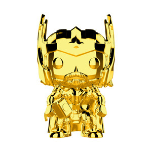 POP! Marvel: MCU 10th Anniversary - Thor (Gold Chrome) Vinyl Bobblehead Figure #381
