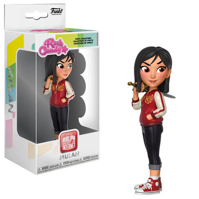 Rock Candy: Wreck-It-Ralph 2 - Mulan Vinyl Figure