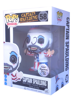 POP! Signature Series: House of 1000 Corpses - Captain Spaulding Vinyl Figure #58 [Signed by Sid Haig]