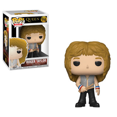 [PRE-SALE] POP! Rocks: Queen - Roger Taylor Vinyl Figure #94 [Ships in December]