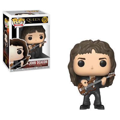 [PRE-SALE] POP! Rocks: Queen - John Deacon Vinyl Figure #95 [Ships in December]
