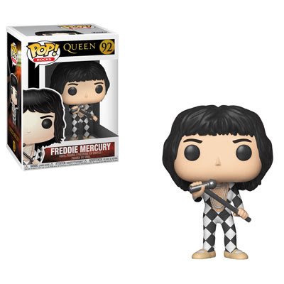 [PRE-SALE] POP! Rocks: Queen - Freddie Mercury Vinyl Figure #92 [Ships in December]