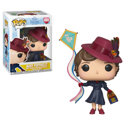 POP! Disney: Mary Poppins - Mary Poppins w/ Kite Vinyl Figure #468