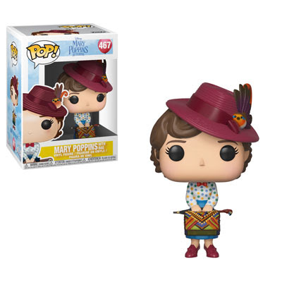 POP! Disney: Mary Poppins - Mary Poppins w/ Bag Vinyl Figure #467