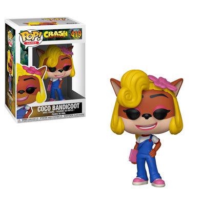 POP! Games: Crash Bandicoot - Coco Bandicoot Vinyl Figure #419