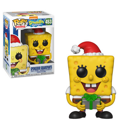 POP! Animation: Spongebob Squarepants - Holiday Spongebob Squarepants Vinyl Figure #453
