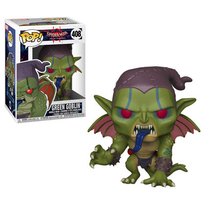 POP! Heroes Marvel: Spider-Man: Into the Spider-Verse - Green Goblin Vinyl Bobblehead Figure #408
