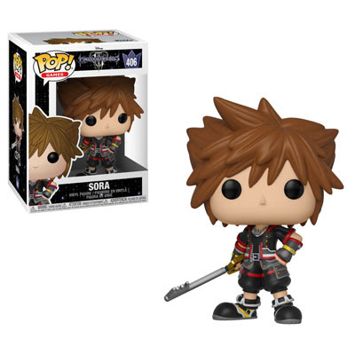 [PRE-SALE] POP! Games: Kingdom Hearts III - Sora Vinyl Figure #406 [Ships in November]