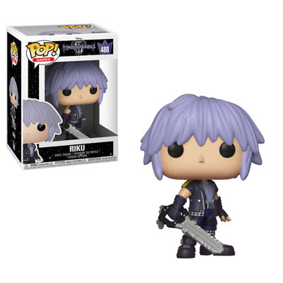 POP! Games: Kingdom Hearts III - Riku Vinyl Figure #488