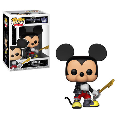POP! Games: Kingdom Hearts III - Mickey Vinyl Figure #489