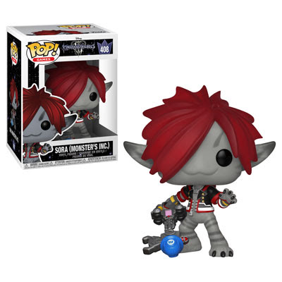 POP! Games: Kingdom Hearts III - Sora (Monster's Inc) Vinyl Figure #485