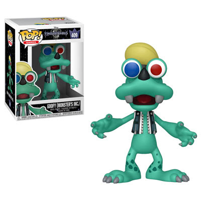 POP! Games: Kingdom Hearts III - Goofy (Monster's Inc) Vinyl Figure #409