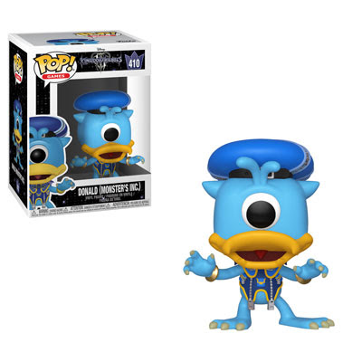 POP! Games: Kingdom Hearts III - Donald (Monster's Inc) Vinyl Figure #410