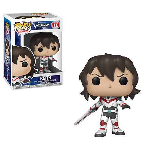 POP! Animation: Voltron - Keith Vinyl Figure #474