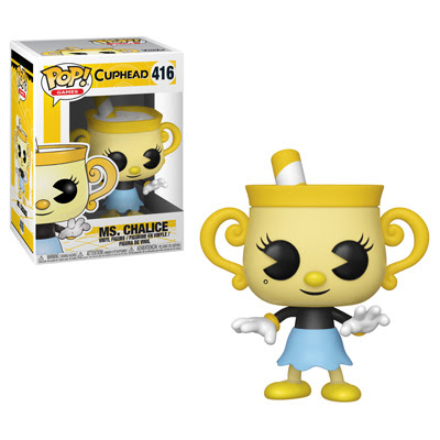 POP! Games: Cuphead - Ms. Chalice Vinyl Figure #416
