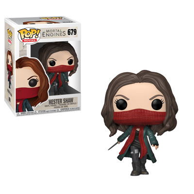 POP! Movies: Mortal Engines - Hester Shaw Vinyl Figure #679
