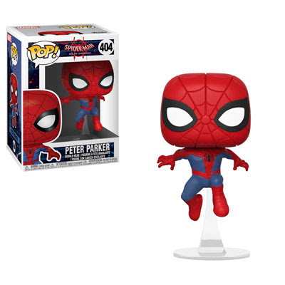 POP! Heroes Marvel: Spider-Man: Into the Spider-Verse - Peter Parker Vinyl Bobblehead Figure #404