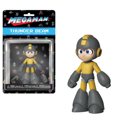[PRE-SALE] Funko Action Figures: Mega Man - Mega Man (Thunder Beam) Action Figure [Ships in December]