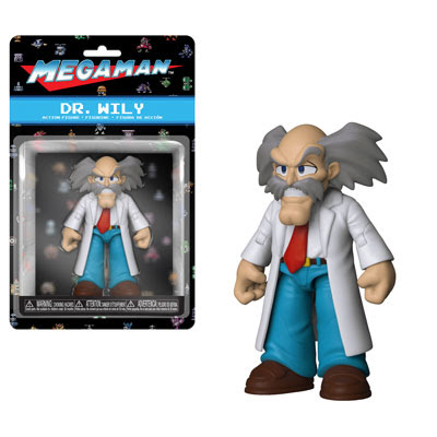 [PRE-SALE] Funko Action Figures: Mega Man - Dr. Wily Action Figure [Ships in December]