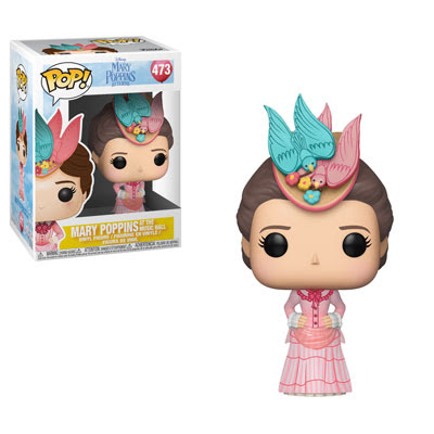 POP! Disney: Mary Poppins - Mary Poppins (Pink Dress) Vinyl Figure #473