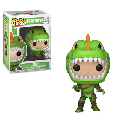 POP! Games: Fortnite - Rex Vinyl Figure #443
