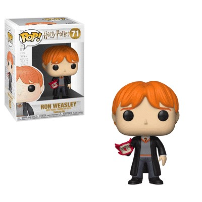 POP! Movies: Harry Potter - Ron Weasley w/ Howler Vinyl Figure #71
