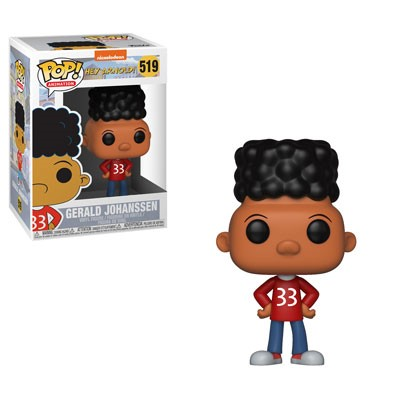 POP! Animation: Hey Arnold! - Gerald Vinyl Figure #519