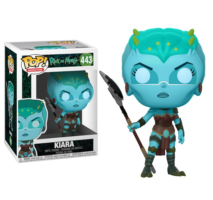POP! Animation: Rick & Morty - Kiara Vinyl Figure #443