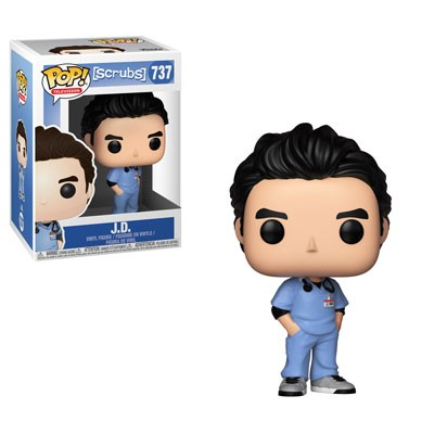 [PRE-SALE] POP! Television: Scrubs - J.D. Vinyl Figure #737 [Ships in February]