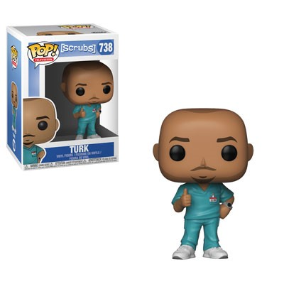 [PRE-SALE] POP! Television: Scrubs - Turk Vinyl Figure #738 [Ships in February]