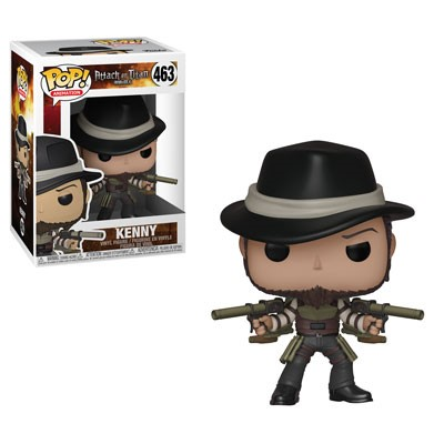 [PRE-SALE] POP! Animation: Attack on Titan - Kenny Vinyl Figure #463 [Ships in January]