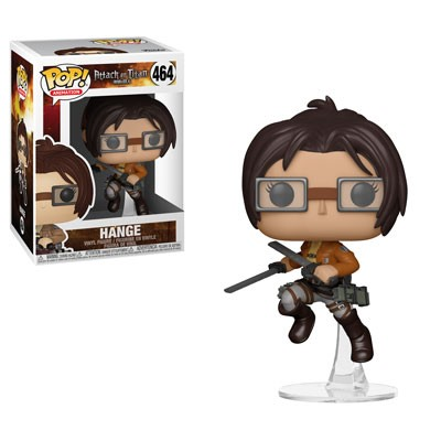 [PRE-SALE] POP! Animation: Attack on Titan - Hange Vinyl Figure #464 [Ships in January]