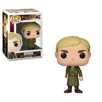 [PRE-SALE] POP! Animation: Attack on Titan - Erwin Vinyl Figure #462 [Ships in January]