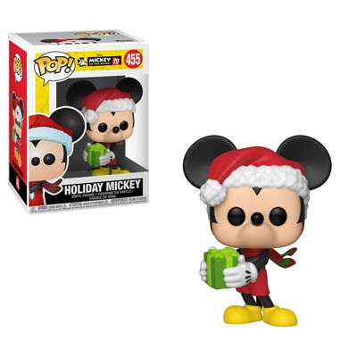 [PRE-SALE] POP! Disney: Mickey's 90th Anniversary - Holiday Mickey Vinyl Figure #455 [Ships in December]