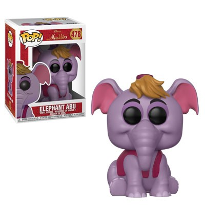 POP! Disney: Aladdin - Elephant Abu Vinyl Figure #478