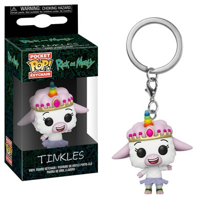 [PRE-SALE] POP! Keychain: Rick & Morty - Tinkles Keychain [Ships in December]