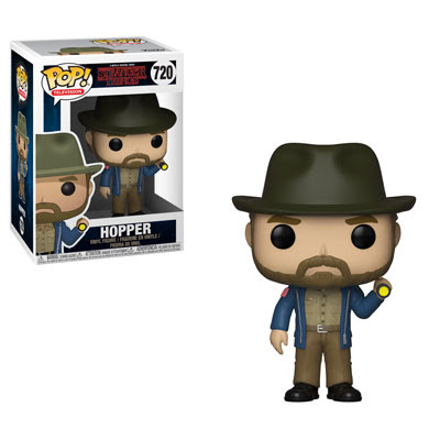 [PRE-SALE] POP! Television: Stranger Things - Hopper w/ Flashlight Vinyl Figure #720 [Ships in November]