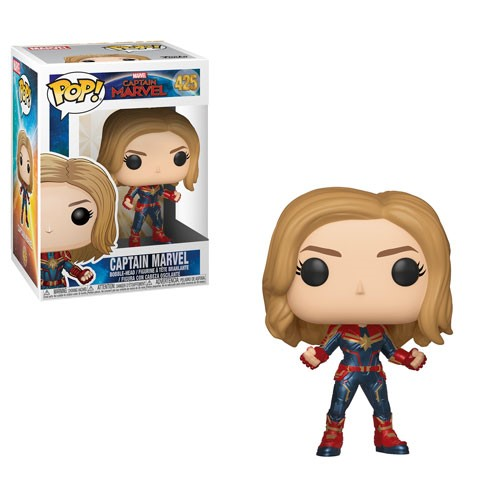 [PRE-SALE] POP! Marvel - Captain Marvel - Captain Marvel Vinyl Bobblehead Figure #425 [Ships in January]