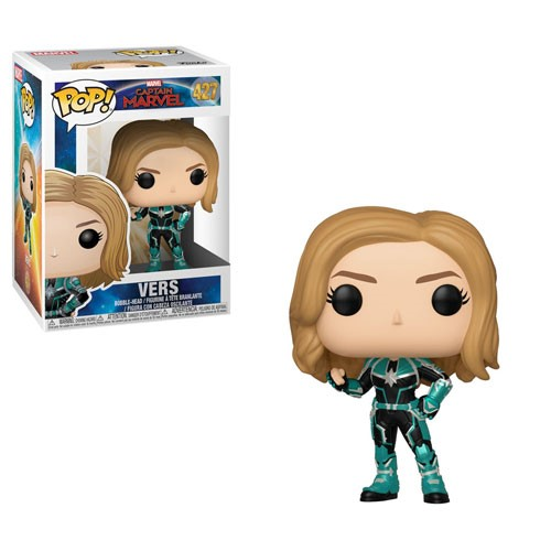 [PRE-SALE] POP! Heroes Marvel - Captain Marvel - Vers Vinyl Bobblehead Figure #427 [Ships in January]