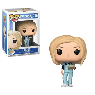 [PRE-SALE] POP! Television: Scrubs - Elliot Vinyl Figure #740 [Ships in February]