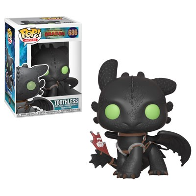 [PRE-SALE] POP! Movies: How to Train Your Dragon 3 - Toothless Vinyl Figure #686 [Ships in January]