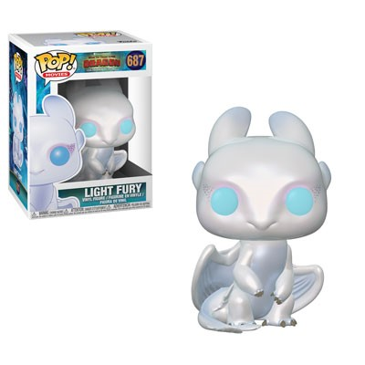 [PRE-SALE] POP! Movies: How to Train Your Dragon 3 - Light Fury Vinyl Figure #687 [Ships in January]