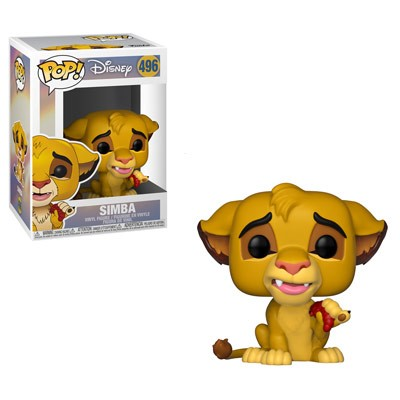 POP! Disney: The Lion King - Simba Vinyl Figure #496
