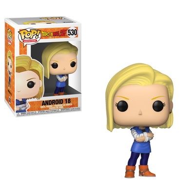 POP! Animation: Dragonball Z - Android 18 Vinyl Figure #530